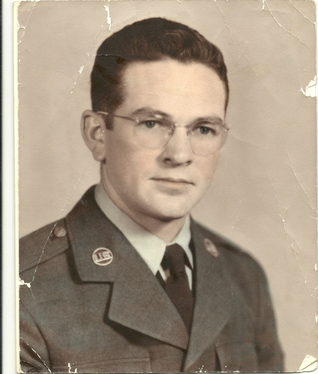 Dad in uniform (Air Force - 1949)