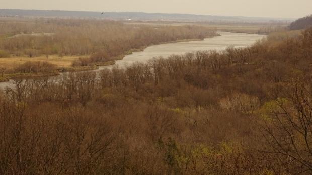 Missouri River near Indian Cave State Park
