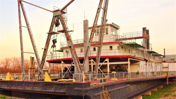 Captain Meriwether Lewis dredge boat
