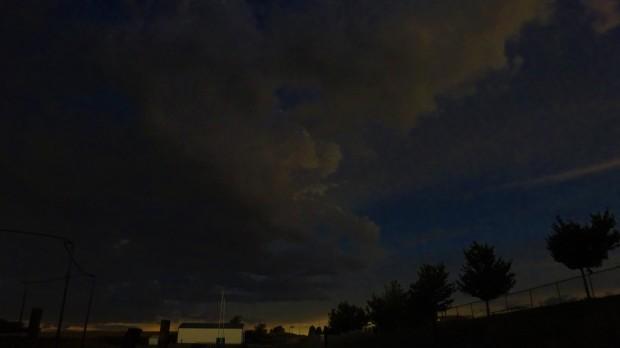 Eclipse makes darkness