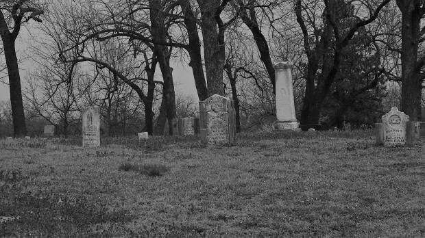 Graveyard at Indian Cave State Park