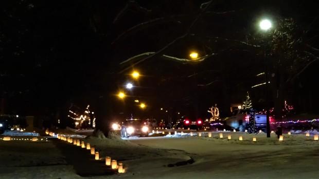 Candle-lit Christmas