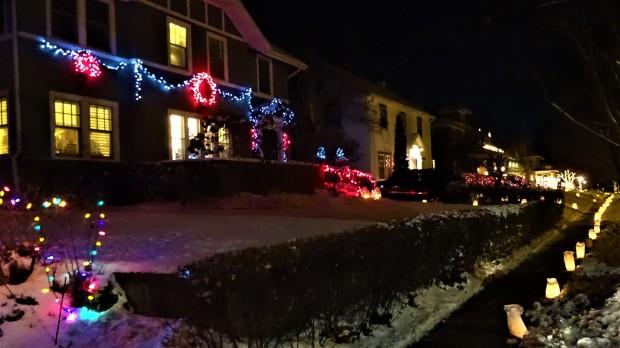 Christmas Eve in Lincoln, Nebraska