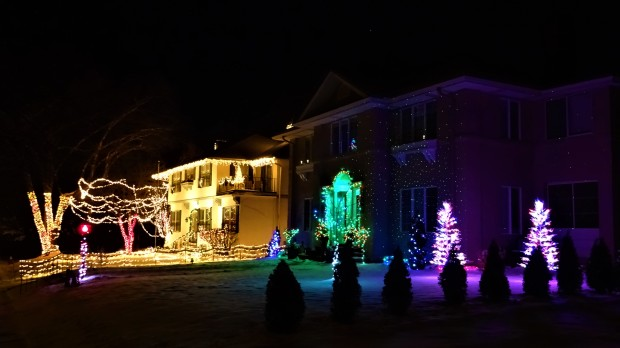 Country Club Christmas Lights