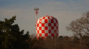 Lincoln Air Park's Water Tower, Tanker Hill