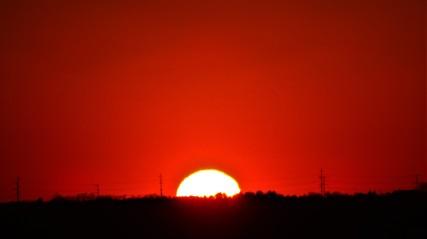 Half-gone Sun
