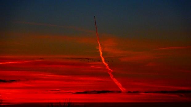 Conrail sunset