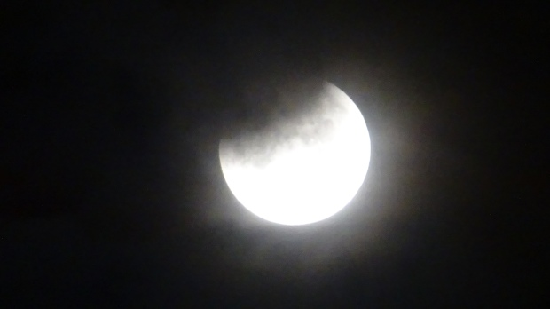 Lunar Eclipse early on