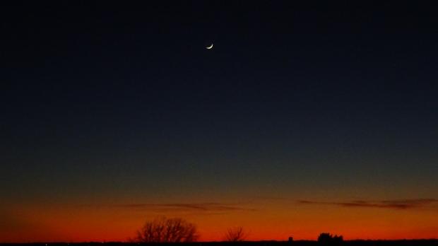 Great Plains twilight