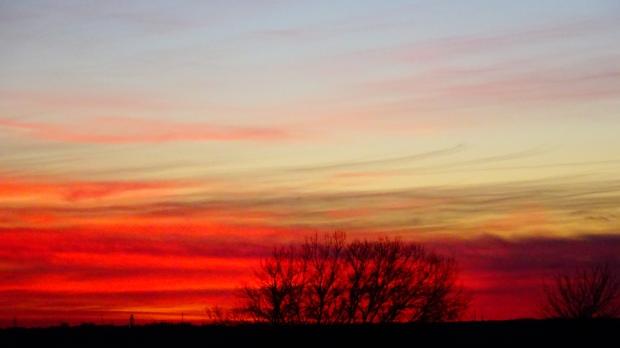 Great Plains sunset