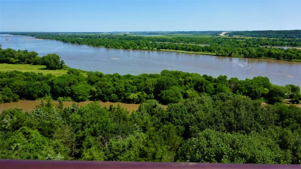 Platte River near Louisville, Nebraska
